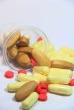 Comprimido da droga e da medicina fotos de stock royalty free