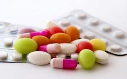 Comprimidos Fotografia de Stock