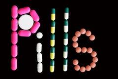 Comprimidos 2 Fotografia de Stock