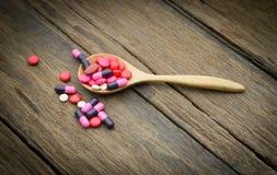 Comprimidos Assorted Imagem de Stock Royalty Free