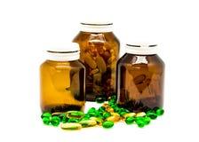 Comprimidos da droga Foto de Stock