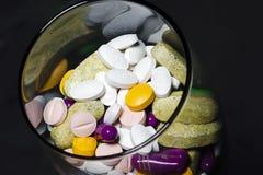 Comprimidos da medicamentação Foto de Stock Royalty Free