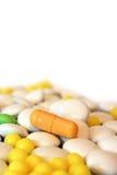 Comprimidos da medicina Foto de Stock