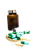 Comprimidos da medicina Imagem de Stock Royalty Free