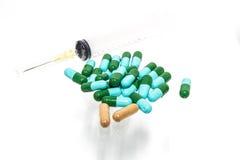 Comprimidos da medicina Fotografia de Stock Royalty Free