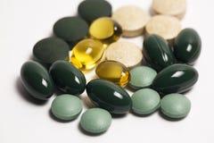 Comprimidos da vitamina Foto de Stock