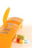 Comprimidos diários Imagens de Stock