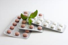 Comprimidos e drogas imagem de stock royalty free