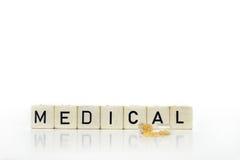 Comprimidos e médico Imagem de Stock Royalty Free