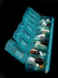 Comprimidos e medicinas Fotografia de Stock