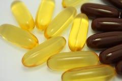 Comprimidos isolados Fotos de Stock Royalty Free