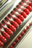 Comprimidos isolados no branco Fotografia de Stock Royalty Free