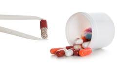 Comprimidos médicos Foto de Stock