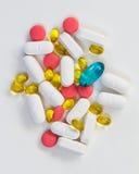 Comprimidos médicos Imagem de Stock