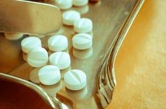 Comprimidos médicos Imagens de Stock