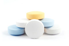Comprimidos médicos Imagens de Stock Royalty Free