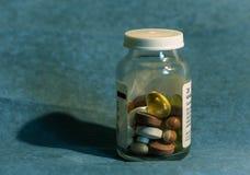 Comprimidos médicos fotografia de stock