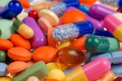 Comprimidos macro Fotos de Stock