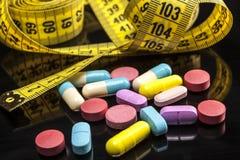 Comprimidos mais coloridos Fotos de Stock
