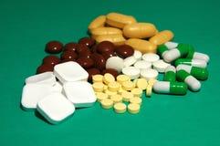 Comprimidos, tratamento Imagens de Stock