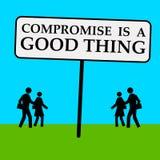 Compromis illustration de vecteur