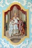 Compromiso de la Virgen María Foto de archivo libre de regalías
