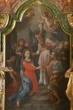 Compromiso de la Virgen María Fotografía de archivo