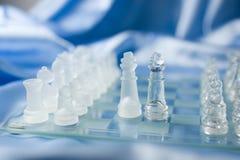 Compromiso del ajedrez Imágenes de archivo libres de regalías