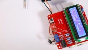 Compruebe la utilidad del semiconductor almacen de metraje de vídeo