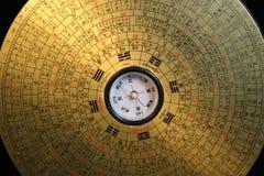 Compás de Feng Shui Imagen de archivo libre de regalías