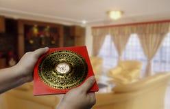 Compás del shui de Feng Imagen de archivo libre de regalías
