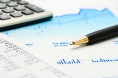 Comptabilité financière photos stock