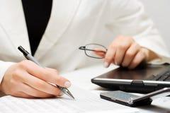 comptabilité financière Photo libre de droits