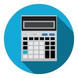 Comptable mathématique Web Icon de calculatrice Images libres de droits