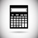 Comptable mathématique Web Icon de calculatrice Photographie stock