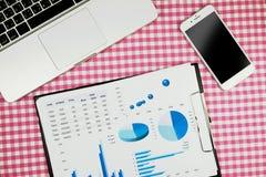 Comptable plat de toosl de configuration, l'espace de fonctionnement pour le comptable, topvi images stock