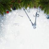 Compte à rebours à la nouvelle année Photos libres de droits