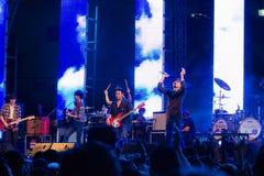 Compte à rebours 2013 de musique de HUA HIN Photo stock