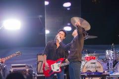 Compte à rebours 2013 de musique de HUA HIN Photographie stock libre de droits