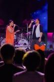 Compte à rebours 2013 de musique de HUA HIN Photo libre de droits