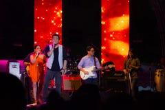 Compte à rebours 2013 de musique de HUA HIN Photos libres de droits