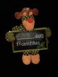 compte à rebours de Noël image libre de droits