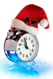 Compte à rebours de Noël de temps Image libre de droits