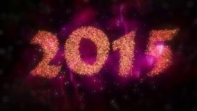 Compte à rebours 2015 de nouvelle année illustration libre de droits