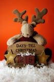 Compte à rebours I. de Noël. Photographie stock libre de droits