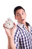Compte à rebours jusqu'à atteindre la date-limite Image stock