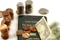 Compte d'épargne d'épargnes Photographie stock libre de droits