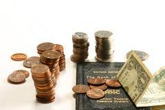 Compte d'épargne d'épargnes Photo libre de droits
