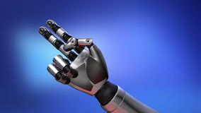 Compte de bras de robot banque de vidéos