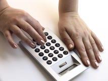 Compte de finances Images libres de droits